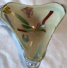 Vintage Murano Hand Crafted Art Glass Candy Dish Smooth Pontil Beautiful
