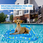80kg Load Pet Dog Swimming Pool Inflatable Floating Bed Raft Mat Water Float Toy