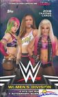 2018 Topps WWE Women's Division HUGE Factory Sealed HOBBY Box-2 HITS-AUTOGRAPH