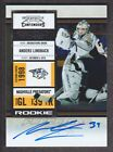 2010-11 Playoff Contenders Hockey #143 Anders Lindback RC Auto