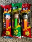 PEZ PEANUTS 3/Lot - Charlie Brown, Peppermint Patty & Lucy - All Mint In Bag