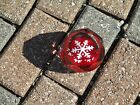 Myers  Suter Signed Art Glass Snowflake Paperweight