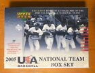 2005 Upper Deck UD USA National Factory Sealed Set Hobby Box Scherzer 3 Autos