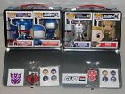 Funko Pop! Transformers VS G.I. Joe 2 Tin Lunch Boxes - Complete Set - Exclusive