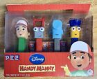 HANDY MANNY PEZ SET OF 4 - IN LIMITED EDITION BOX - 2011 RELEASE - RETIRED NOW