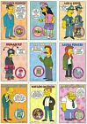 THE SIMPSONS SERIES 2 1994 SKYBOX PARTIAL BASE CARD SET 79 80 AN