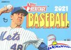 2021 Topps Heritage Baseball EXCLUSIVE HUGE Factory Sealed Blaster Box-Loaded!