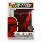 Funko POP! Star Wars - Mandalorian (Red Chrome) Exclusive With Soft Protector