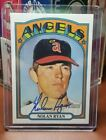 2021 Topps Heritage Nolan Ryan Auto Real One Angels SP Autograph Mint