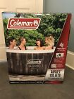 Coleman SaluSpa 4 Person Inflatable Outdoor Hot Tub Air Jets Jacuzzi Pool NEW