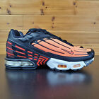 Nike Air Max Plus lll Tuned Mens Running Shoes CD7005 001 Orange Black