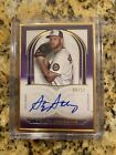 Stephen Strasburg 2021 Topps Definitive Gold Framed Auto Autograph #6 10 SP Nats