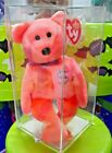 AUTHENTICATED Ty Beanie Babies BILLIONAIRE #3 BEAR RARE #257/650 SIGNED MWMT