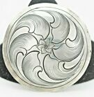 Saddle Silver Horn Cap 2 Sterling Silver Western Conchos Bridle Leather Work