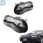 Black Headlights Headlamps Assembly for 1998 2002 Chevy Camaro Z28 Z28 SS Pair