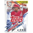 2021 Topps Series 1 Blaster Box with Exclusive Blue Walmart Parallels New Sealed