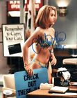 CHRISTINA APPLEGATE Signed MARRIED WITH CHILDREN 8x10 Photo Autograph JSA COA