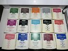 Pre Owned Stampin Up INK PADS Water Based  Pigment Dye Foam Lot of 15