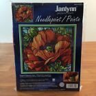Janlynn Nancy Rossi Poppies Stained Glass Needlepoint Kit 023 0320 Sealed