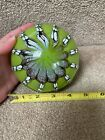 Nice Large Estate Art Glass Beautiful Colors Paperweight