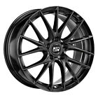 ALLOY WHEEL MSW 29 AUDI A6 ALLROAD Staggered 8x19 5x112 ET 40 GLOSS BLACK a3c