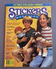Vintage 80s Stickers Magazine Catalogue w Ads Issue 2 Spring 1984