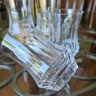 4 GALWAY CRYSTAL OLD GALWAY DOUBLE OLD FASHIONED CRYSTAL Star foot TUMBLER GLASS