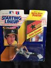 1992 STARTING LINEUP JOSE CANSECO  FIGURE WITH 11x14 {Special Series Poster} NIP