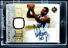 2006-07 Ultimate Collection DAVID ROBINSON AUTOGRAPH AUTO PATCH JERSEY #74 75