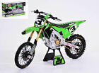 Model motorcycle Kawasaki KX450 Race Team Tomac 2019 Scale 16 diecast Motor