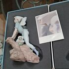 Lladro Privilege Figurine PRINCE OF THE ELVES FAIRY BOY #7690 Retired Mint Box