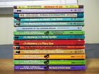 Lot of 14 Alfred Hitchcock and the Three Investigators PBs Smashing Glass