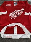 Detroit Red Wings Authentic CCM Hockey Jersey 2000 patch 48 blank Home