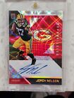 Jordy Nelson 2016 Unparalleled Red Autograph 10 Auto Packers