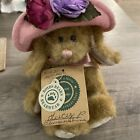 BOYDS BUNNY LUCY P. BLUMENSHINE PLUSH IN HAT COLLECTION 8