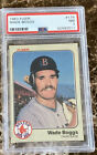 Wade Boggs Cards, Rookie Cards and Autographed Memorabilia Guide 10