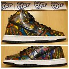 Nike Sb Dunk High Premium Concepts Stained Glass 2014