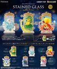 Re ment Pokemon Stained Glass Collection Full Set of 6 Miniature Figure