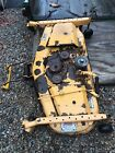 Cub Cadet 190 301 100  48 Mower Deck Shell and Caster Arms Wheels Solid