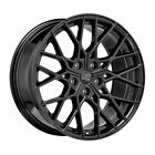 ALLOY WHEEL MSW 74 BMW M5 441Kw STAGGERED FRONT 105x20 5x112 ET 28 GLOSS BL 3f2