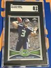 2012 Topps Chrome Russell Wilson Rookie SGC 8- Seahawks PSA BGS Crossover