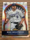 2011 Mike Moustakas Topps Finest Rookie Refractor 396 549