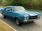 1970 Chevrolet Chevelle SS 1970 Chevrolet Chevelle Coupe Blue RWD Manual SS