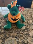 TY - TRICKY-  Halloween Beanie Baby Bear..... New with Mint tags