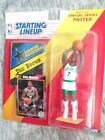 NEW RARE Starting Lineup DEE BROWN 1992 BOSTON CELTICS Figure, Card and Poster