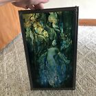 Art Deco Louis Comfort Tiffany Stained Glass Mermaid Panel FMNH Rare Read H2