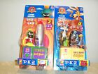 PEZ Looney Tunes Candy Hander (2) Wile E Coyote Electronic/Marvin the Martin