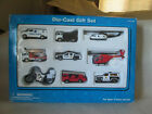 Dayton Hudson 9 Pack Diecast Vehicle Gift Set Emergency Police Rescue Helicopter