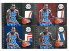 2010-11 Panini Totally Certified 5 7 10 KEVIN DURANT GU Patch Cards