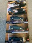 Hot Wheels Premium 92 Ford Mustang Fast And Furious Stars 2 5 F9 Lot Of 4
